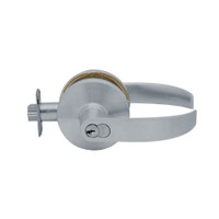 K501GD-Q-626 Falcon K Series Single Cylinder Entry Lock with Quantum Lever Style in Satin Chrome Finish