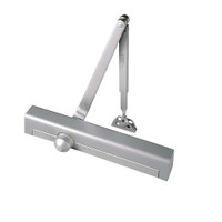 8301H-689 Norton 8000 Series Hold Open Door Closers with Regular Parallel and Top Jamb to 2-3/4 inch Reveal in Aluminum Finish