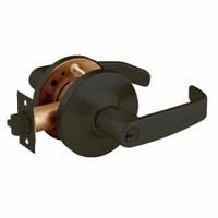 28-10G24-GL-10B Sargent 10 Line Cylindrical Entry Locks with L Lever Design and G Rose in Oxidized Dull Bronze