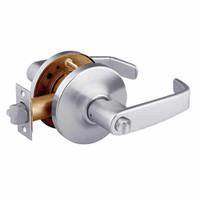 28-10U68-GL-26D Sargent 10 Line Cylindrical Hospital Privacy Locks with L Lever Design and G Rose in Satin Chrome