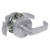 28-10G24-LL-26D Sargent 10 Line Cylindrical Entry Locks with L Lever Design and L Rose in Satin Chrome