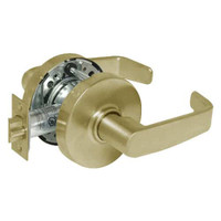 28-10U15-LL-04 Sargent 10 Line Cylindrical Passage Locks with L Lever Design and L Rose in Satin Brass
