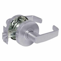 28-10U65-LL-26D Sargent 10 Line Cylindrical Privacy Locks with L Lever Design and L Rose in Satin Chrome
