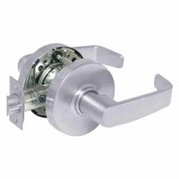 28-10U65-LL-26 Sargent 10 Line Cylindrical Privacy Locks with L Lever Design and L Rose in Bright Chrome