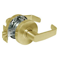 28-10U65-LL-03 Sargent 10 Line Cylindrical Privacy Locks with L Lever Design and L Rose in Bright Brass