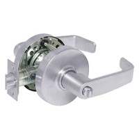 28-10U68-LL-26 Sargent 10 Line Cylindrical Hospital Privacy Locks with L Lever Design and L Rose in Bright Chrome