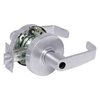 28LC-10G54-LL-26 Sargent 10 Line Cylindrical Dormitory Locks with L Lever Design and L Rose Less Cylinder in Bright Chrome