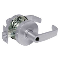 28LC-10G26-LL-26D Sargent 10 Line Cylindrical Storeroom Locks with L Lever Design and L Rose Less Cylinder in Satin Chrome