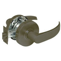 28-10G13-LP-10B Sargent 10 Line Cylindrical Exit Locks with P Lever Design and L Rose in Oxidized Dull Bronze