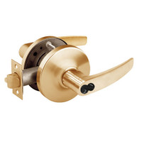 2860-10G17-GB-10 Sargent 10 Line Cylindrical Institutional Locks with B Lever Design and G Rose Prepped for LFIC in Dull Bronze