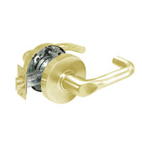 28-10U15-LJ-03 Sargent 10 Line Cylindrical Passage Locks with J Lever Design and L Rose in Bright Brass