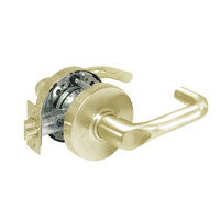 28-10U65-LJ-04 Sargent 10 Line Cylindrical Privacy Locks with J Lever Design and L Rose in Satin Brass