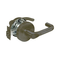28-10U65-LJ-10B Sargent 10 Line Cylindrical Privacy Locks with J Lever Design and L Rose in Oxidized Dull Bronze