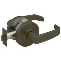 28-7U15-LL-10B Sargent 7 Line Cylindrical Passage Locks with L Lever Design and L Rose in Oxidized Dull Bronze