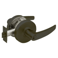 28-7G05-LB-10B Sargent 7 Line Cylindrical Entrance/Office Locks with B Lever Design and L Rose in Oxidized Dull Bronze
