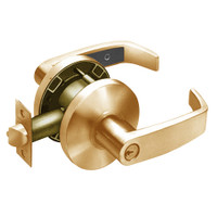 28-65G37-KL-10 Sargent 6500 Series Cylindrical Classroom Locks with L Lever Design and K Rose in Dull Bronze
