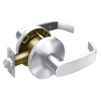 28-65U15-KL-26 Sargent 6500 Series Cylindrical Passage Locks with L Lever Design and K Rose in Bright Chrome
