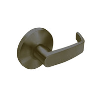 28-65U93-KL-10B Sargent 6500 Series Cylindrical Single Lever Pull with L Lever Design and K Rose in Oxidized Dull Bronze