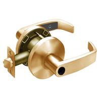 28LC-65G37-KL-10 Sargent 6500 Series Cylindrical Classroom Locks with L Lever Design and K Rose Less Cylinder in Dull Bronze
