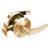 28-65G37-KB-10 Sargent 6500 Series Cylindrical Classroom Locks with B Lever Design and K Rose in Dull Bronze
