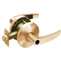 28LC-65G04-KB-10 Sargent 6500 Series Cylindrical Storeroom/Closet Locks with B Lever Design and K Rose Less Cylinder in Dull Bronze