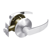 28-65U65-KP-26 Sargent 6500 Series Cylindrical Privacy Locks with P Lever Design and K Rose in Bright Chrome