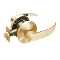 28-65U65-KP-10 Sargent 6500 Series Cylindrical Privacy Locks with P Lever Design and K Rose in Dull Bronze