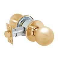 28-6U65-OB-10 Sargent 6 Line Series Knob Privacy Locks with B Knob Design and O Rose in Dull Bronze