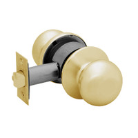 28-6U65-BS-04 Sargent 6 Line Series Knob Privacy Locks with S Knob Design and B Rose in Satin Brass