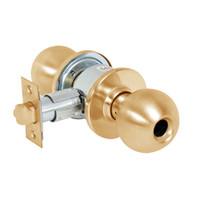 28LC-6G04-OB-10 Sargent 6 Line Series Knob Storeroom/Closet Locks with B Knob Design and O Rose Less Cylinder in Dull Bronze