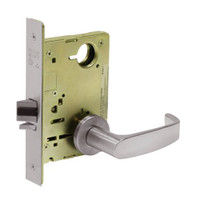 8213-LNL-32D Sargent 8200 Series Communication or Exit Mortise Lock with LNL Lever Trim in Satin Stainless Steel