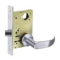 8213-LNP-26 Sargent 8200 Series Communication or Exit Mortise Lock with LNP Lever Trim in Bright Chrome