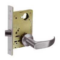 8213-LNP-32D Sargent 8200 Series Communication or Exit Mortise Lock with LNP Lever Trim in Satin Stainless Steel