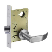 8215-LNP-26D Sargent 8200 Series Passage or Closet Mortise Lock with LNP Lever Trim in Satin Chrome