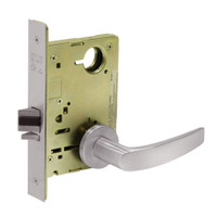 8213-LNB-32D Sargent 8200 Series Communication or Exit Mortise Lock with LNB Lever Trim in Satin Stainless Steel