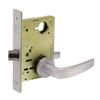 8215-LNB-32D Sargent 8200 Series Passage or Closet Mortise Lock with LNB Lever Trim in Satin Stainless Steel