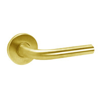 ML2068-RWA-605 Corbin Russwin ML2000 Series Mortise Privacy or Apartment Locksets with Regis Lever in Bright Brass