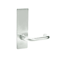 ML2010-LWM-618 Corbin Russwin ML2000 Series Mortise Passage Locksets with Lustra Lever in Bright Nickel