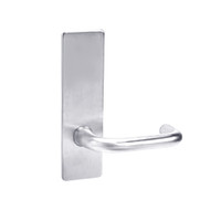 ML2010-LWM-625 Corbin Russwin ML2000 Series Mortise Passage Locksets with Lustra Lever in Bright Chrome