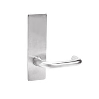 ML2070-LWM-629 Corbin Russwin ML2000 Series Mortise Full Dummy Locksets with Lustra Lever in Bright Stainless Steel