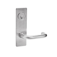 ML2068-LWM-630 Corbin Russwin ML2000 Series Mortise Privacy or Apartment Locksets with Lustra Lever in Satin Stainless