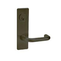 ML2002-LWM-613 Corbin Russwin ML2000 Series Mortise Classroom Intruder Locksets with Lustra Lever in Oil Rubbed Bronze