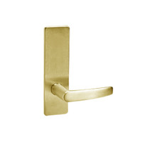 ML2050-ASM-605 Corbin Russwin ML2000 Series Mortise Half Dummy Locksets with Armstrong Lever in Bright Brass
