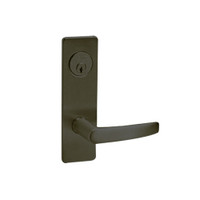 ML2024-ASM-613 Corbin Russwin ML2000 Series Mortise Entrance Locksets with Armstrong Lever and Deadbolt in Oil Rubbed Bronze