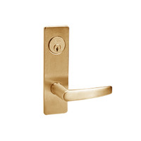 ML2048-ASM-612 Corbin Russwin ML2000 Series Mortise Entrance Locksets with Armstrong Lever and Deadbolt in Satin Bronze