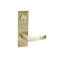 ML2059-ASM-606 Corbin Russwin ML2000 Series Mortise Security Storeroom Locksets with Armstrong Lever and Deadbolt in Satin Brass
