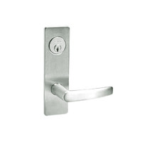 ML2059-ASM-618 Corbin Russwin ML2000 Series Mortise Security Storeroom Locksets with Armstrong Lever and Deadbolt in Bright Nickel