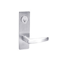 ML2059-ASM-625 Corbin Russwin ML2000 Series Mortise Security Storeroom Locksets with Armstrong Lever and Deadbolt in Bright Chrome