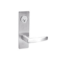 ML2059-ASM-629 Corbin Russwin ML2000 Series Mortise Security Storeroom Locksets with Armstrong Lever and Deadbolt in Bright Stainless Steel