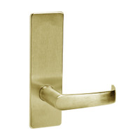 ML2060-NSM-606 Corbin Russwin ML2000 Series Mortise Privacy Locksets with Newport Lever in Satin Brass